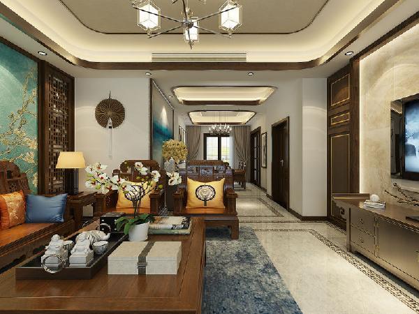 将现代和传统元素结合在一起,以现代人的审美打造古典韵味的事物,运用简约大气的手法,为业主营造一处经典、气派的大居所,体现出主人优雅舒适的生活态度。