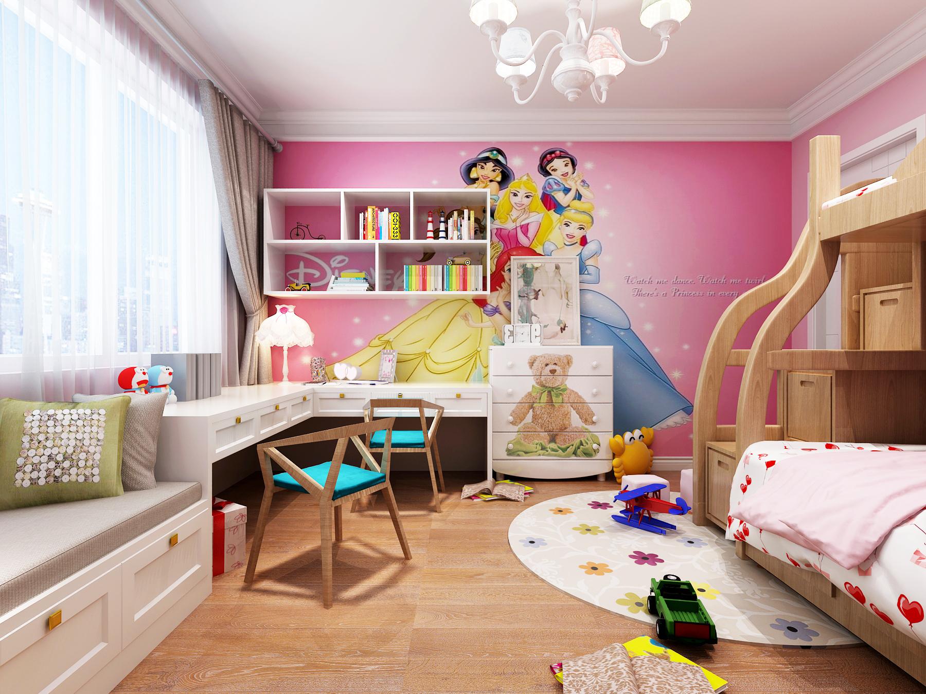 三居 北欧 生活家家居 拎包装 儿童房图片来自青岛生活家家居科技有限公司在浮山花园-杨霞的分享