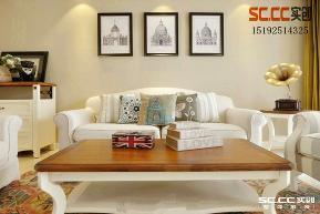 三居 新古典 实创 中海蓝庭 白领 客厅图片来自快乐彩在中海蓝庭99平B2三居室美式的分享
