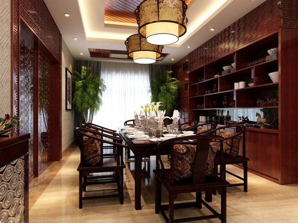 别墅 白领 旧房改造 小资 中式 奢华 餐厅图片来自tjsczs88在古韵美的分享