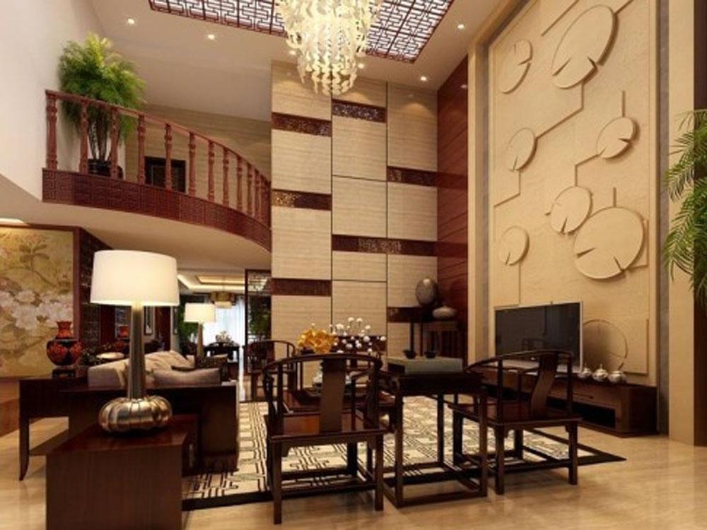 别墅 白领 旧房改造 小资 中式 奢华 客厅图片来自tjsczs88在古韵美的分享