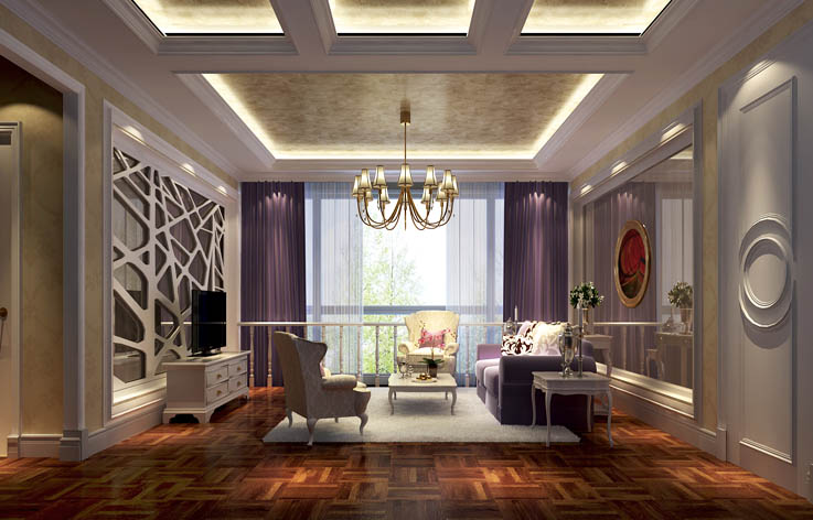 欧式 别墅 简约图片来自北京高度国际装饰在卡尔生活馆300㎡简欧的分享