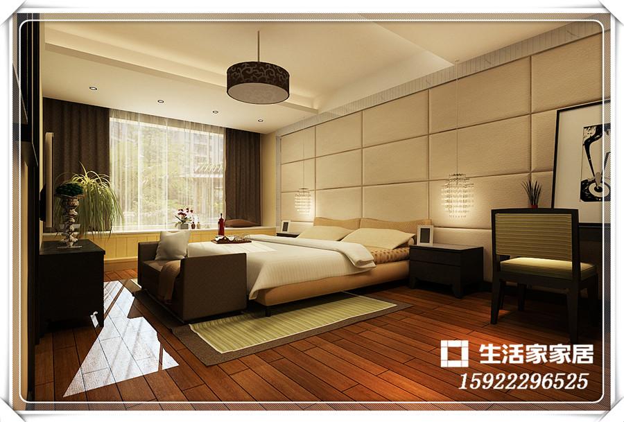 港式风格 三居 小资 收纳 生活家家居 卧室图片来自天津生活家健康整体家装在港市新城-港式风格的分享