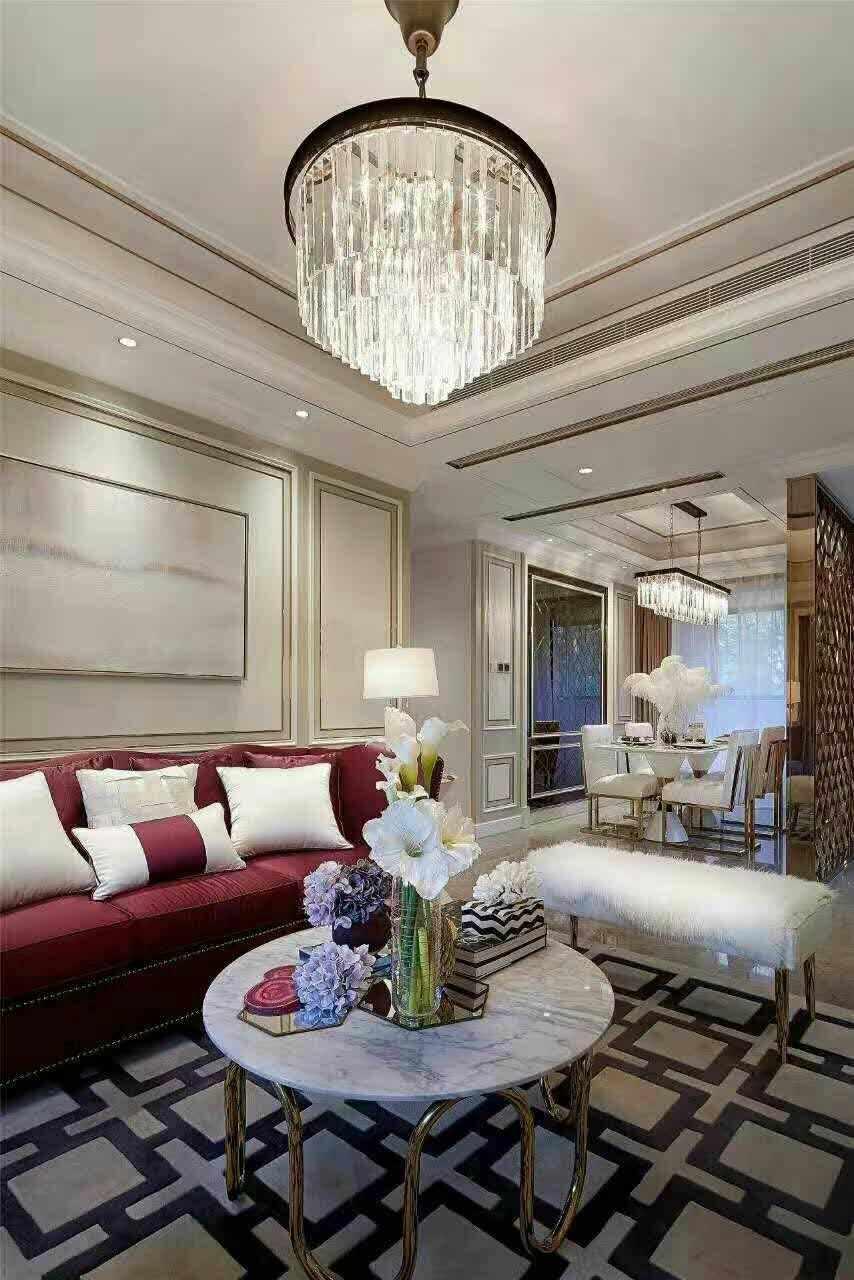 客厅图片来自西安龙发装饰黄蓉在港式实景案例分享的分享