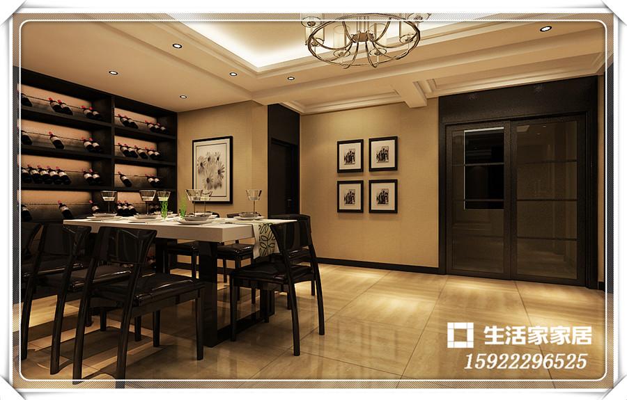 港式风格 三居 小资 收纳 生活家家居 餐厅图片来自天津生活家健康整体家装在港市新城-港式风格的分享