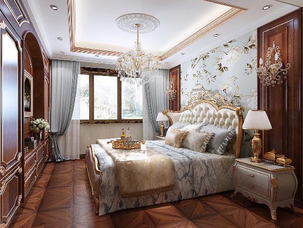 卧室一个家最主要的空间,就算要储物空间充裕丰富也要享受变化的空间,美的享受,阔气的大床床头,看着也就是那么的舒适那么惬意,床似乎在宣誓着主人的成功与品位。