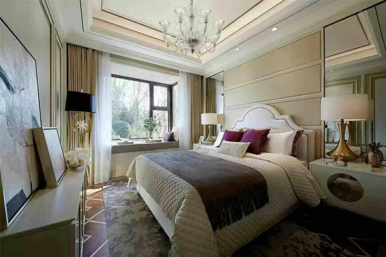 卧室图片来自西安龙发装饰黄蓉在港式实景案例分享的分享