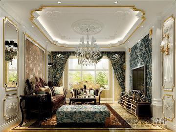西山艺境140平米古典欧式三居室