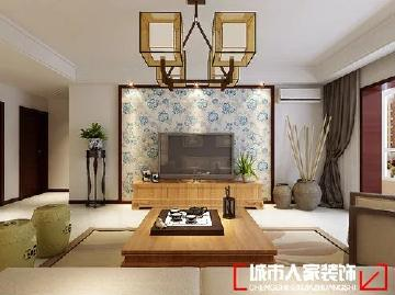 青花瓷新中式