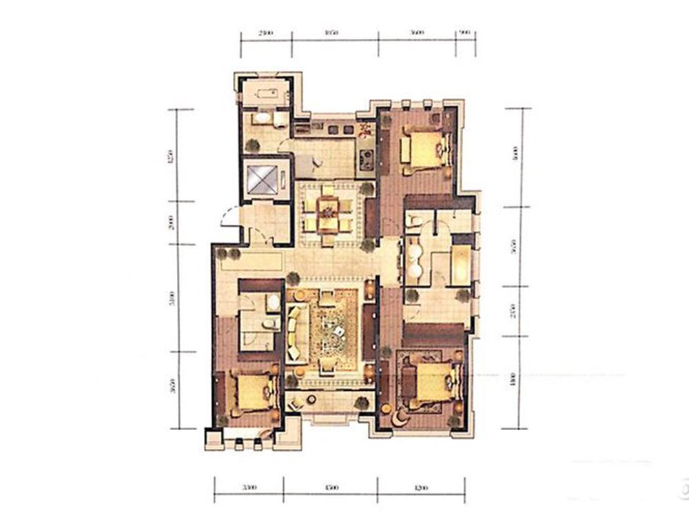 三居 欧式 收纳 旧房改造 白领 户型图图片来自tjsczs88在归去来兮的分享