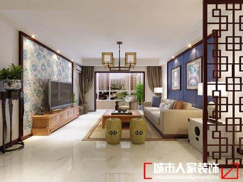 简约 卧室 客厅 三居 厨房 餐厅图片来自乐粉_20170308160258770在青花瓷新中式的分享
