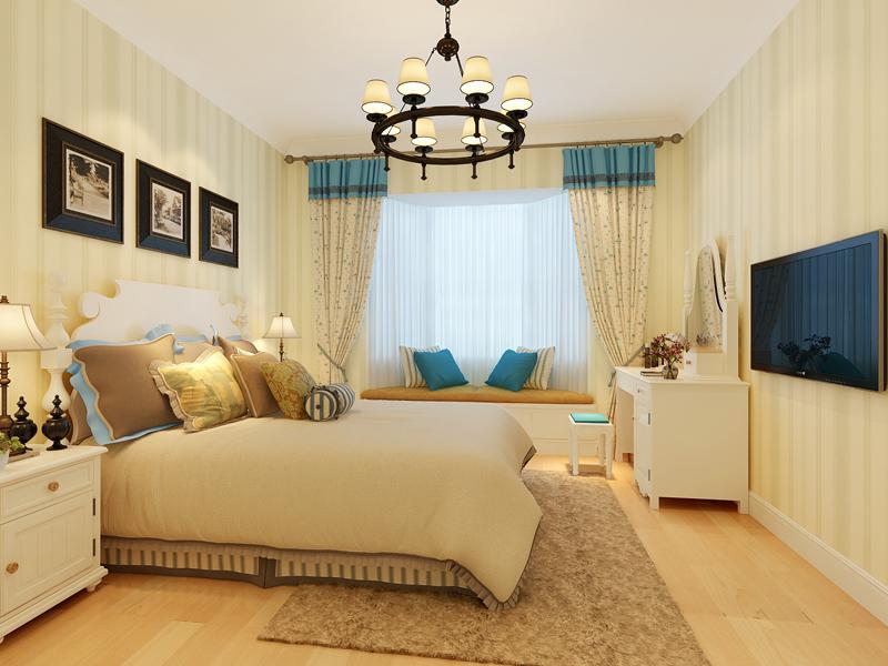 卧室图片来自业之峰装饰旗舰店在奥林公园   浪漫的午后的分享