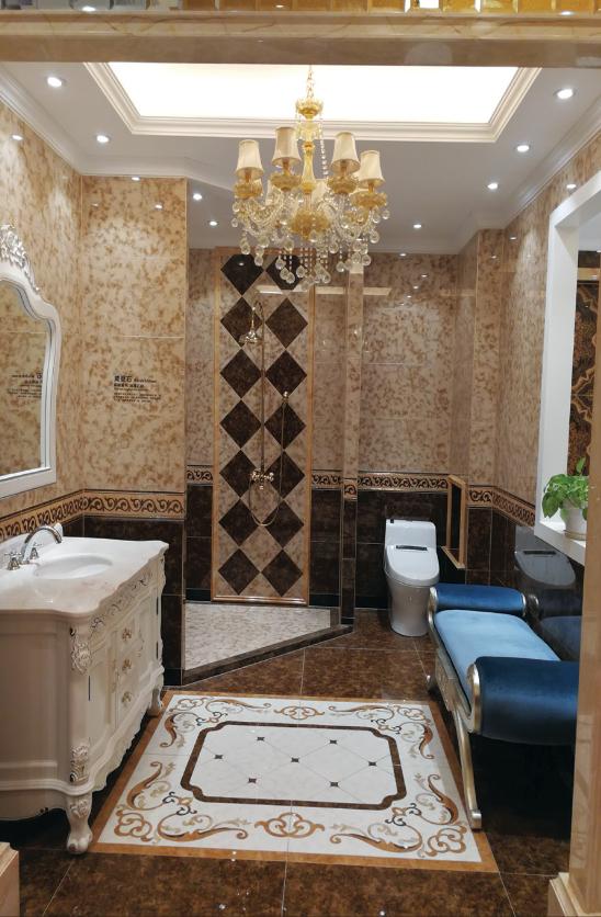 欧式 别墅 卫生间图片来自乐粉_20170228091152557在法式宫廷风格大宅作品的分享