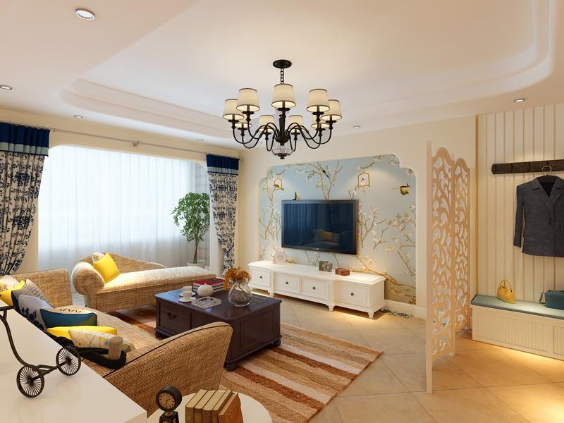 客厅图片来自业之峰装饰旗舰店在奥林公园   浪漫的午后的分享