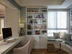 三居 收纳 80后 美式 小资 白领 书房图片来自tjsczs88在美居雅庭的分享
