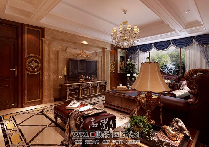 简约 欧式 田园 混搭 三居 白领 收纳 80后 小资 客厅图片来自沈阳百家装饰小姜在格林玫瑰湾170平美式风格的分享