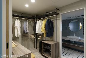 二居 工业 现代 收纳 衣帽间图片来自幸福空间在引光天井 老屋变身恋家新婚宅的分享