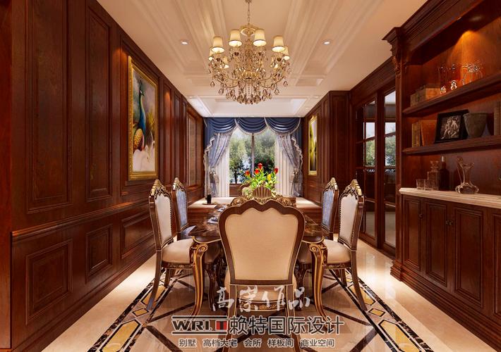 简约 欧式 田园 混搭 三居 白领 收纳 80后 小资 餐厅图片来自沈阳百家装饰小姜在格林玫瑰湾170平美式风格的分享
