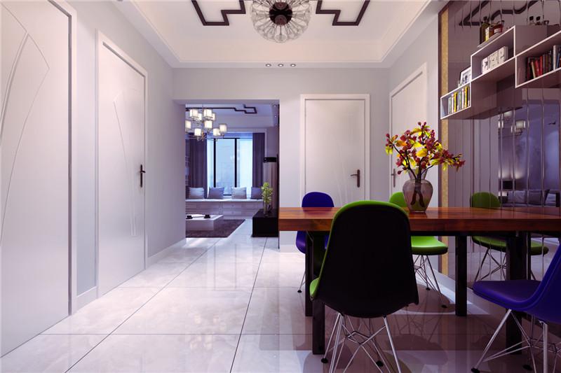 龙发装饰 餐厅图片来自龙发装饰天津公司在诺德89平米现代简约风格的分享