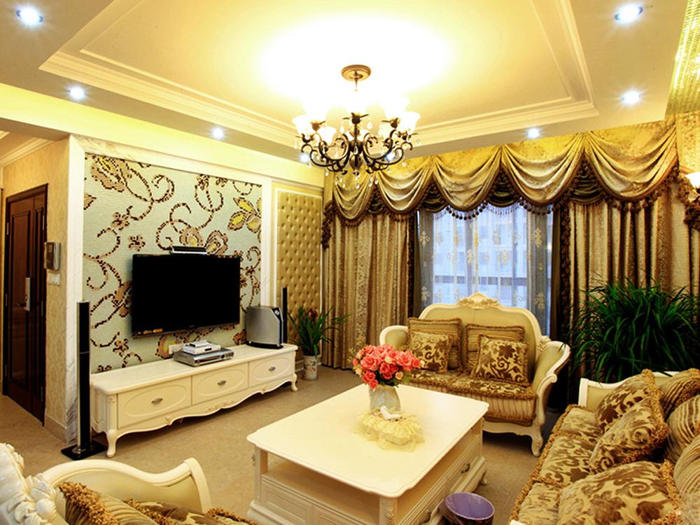 混搭 二居 客厅图片来自tjsczs88在归属的分享