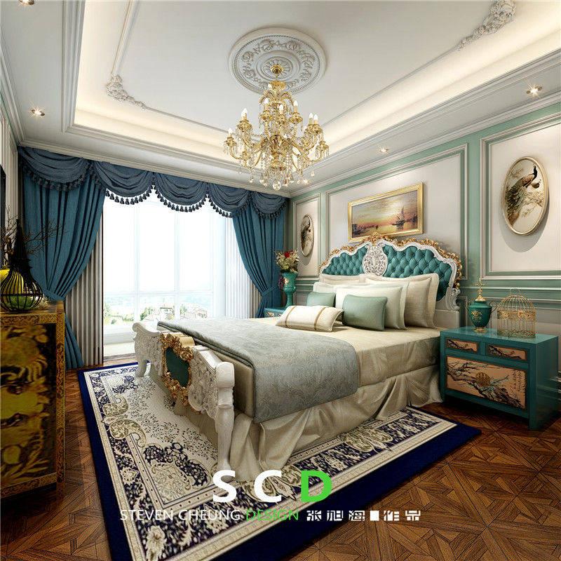 卧室图片来自日升嬛嬛在复式简美风格装修的分享