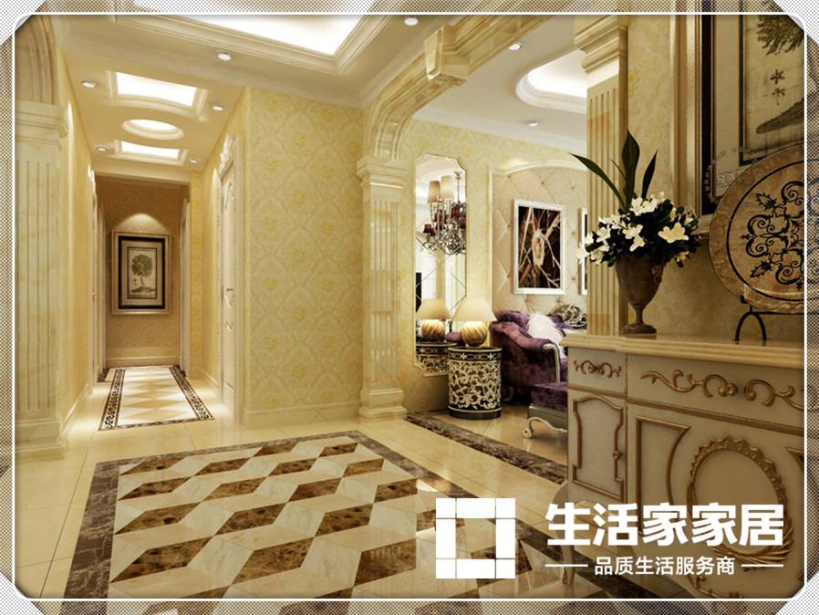 欧式 生活家家居 玄关图片来自天津生活家健康整体家装在爱家新河-欧式风格的分享