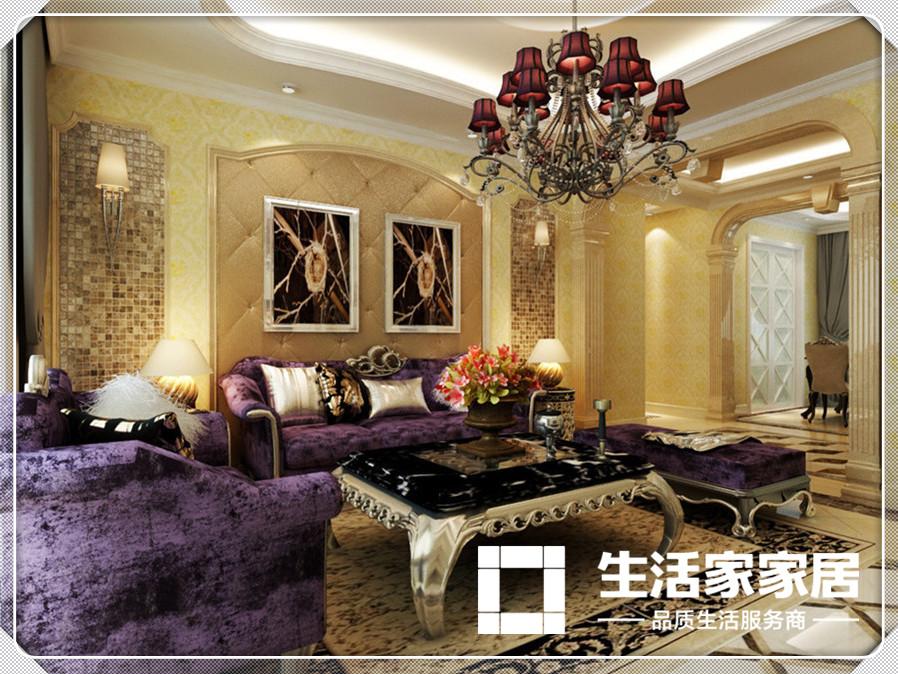 欧式 生活家家居 客厅图片来自天津生活家健康整体家装在爱家新河-欧式风格的分享