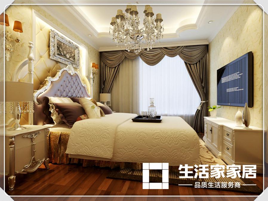 欧式 生活家家居 卧室图片来自天津生活家健康整体家装在爱家新河-欧式风格的分享