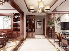 二居 实创 中式 白领 玄关图片来自快乐彩在二居室中式保利茉莉公馆112平的分享
