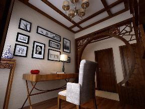 三居 白领 收纳 80后 小资 中式 书房图片来自tjsczs88在云淡风轻的分享