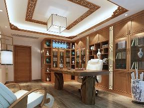 三居 白领 收纳 中式 旧房改造 小资 书房图片来自tjsczs88在中式家居的分享