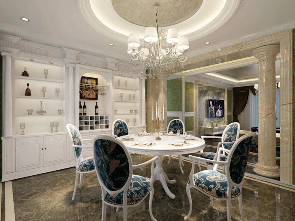 三居 白领 收纳 旧房改造 80后 欧式 餐厅图片来自tjsczs88在欧式生活的分享