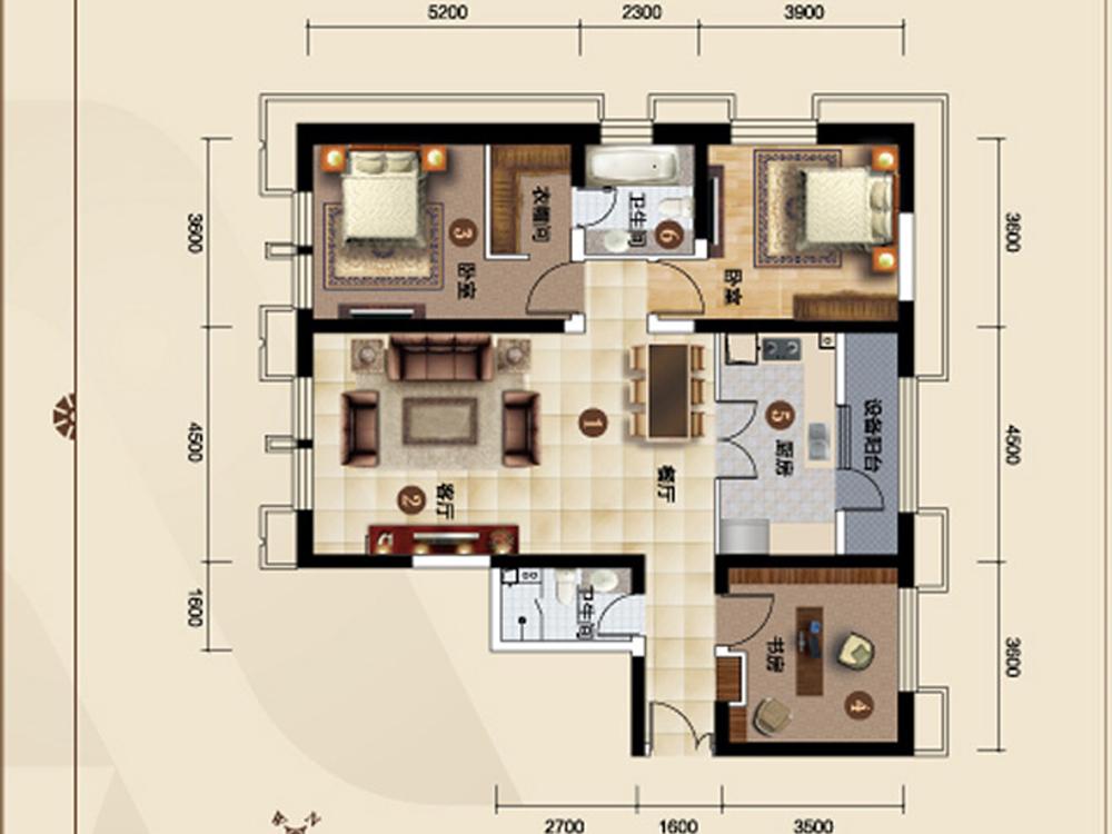 三居 白领 收纳 旧房改造 80后 欧式 户型图图片来自tjsczs88在欧式生活的分享