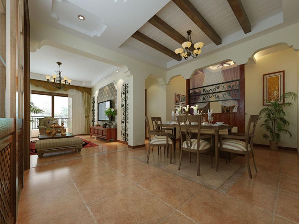 二居 白领 收纳 旧房改造 美式 小资 餐厅图片来自tjsczs88在美式美居的分享