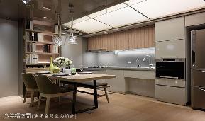 现代 简约 白领 收纳 小资 厨房图片来自幸福空间在长青全龄乐活宅 一起好好变老的分享