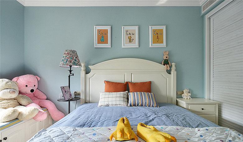 卧室图片来自家装大管家在畅享休闲时尚 135平美式雅致3居的分享