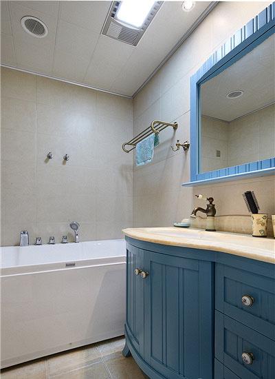 卫生间图片来自家装大管家在畅享休闲时尚 135平美式雅致3居的分享
