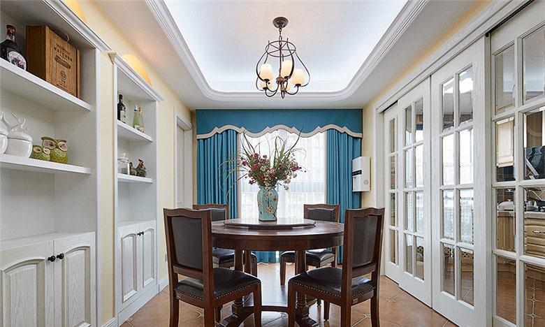餐厅图片来自家装大管家在畅享休闲时尚 135平美式雅致3居的分享