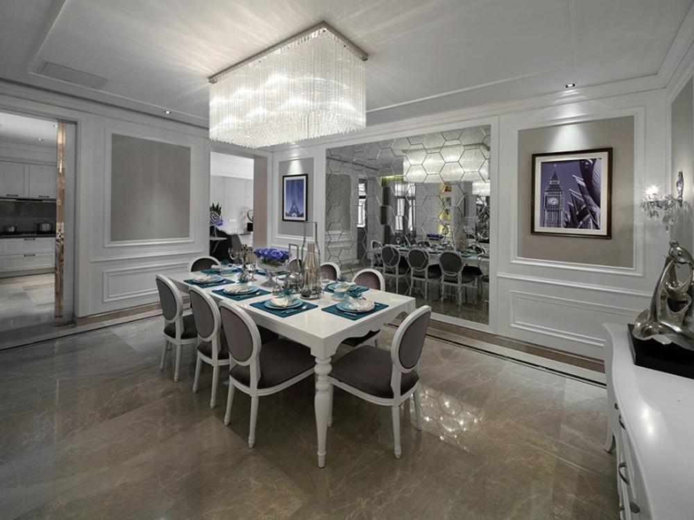 欧式 三居 餐厅图片来自tjsczs88在贵气奢华的分享