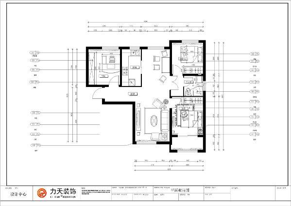 本案是金地艺境三室两厅一厨一卫的97.61的标准户型,从入户门进入就是一个长走廊,刚进门的左边就是一个书房,在往里走,他的右边是一个采光好,通风佳的客厅位置,左边是一个靠墙式的餐厅