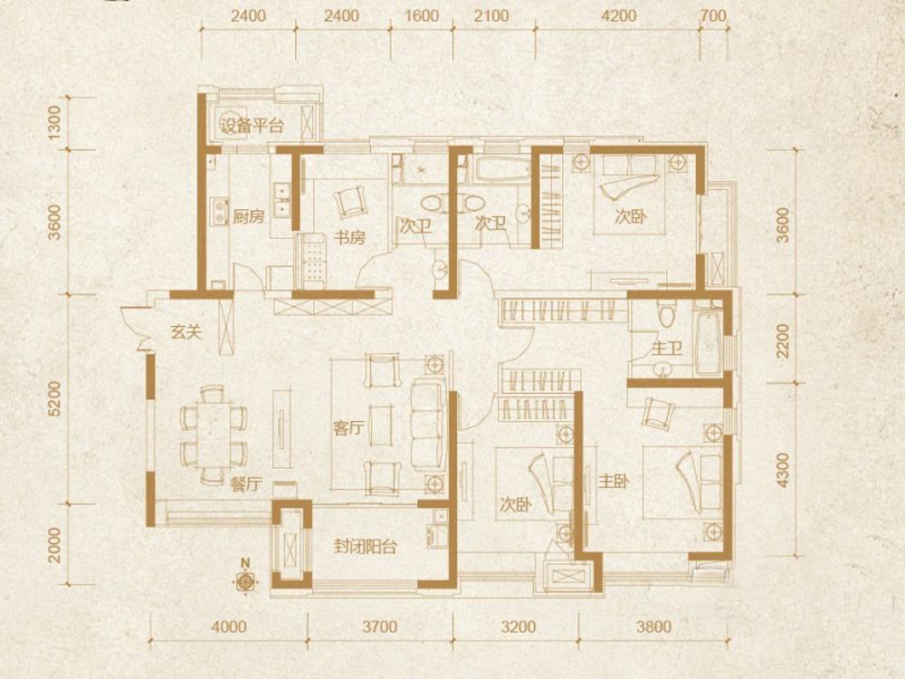 三居 收纳 旧房改造 80后 小资 户型图图片来自tjsczs88在放松的分享
