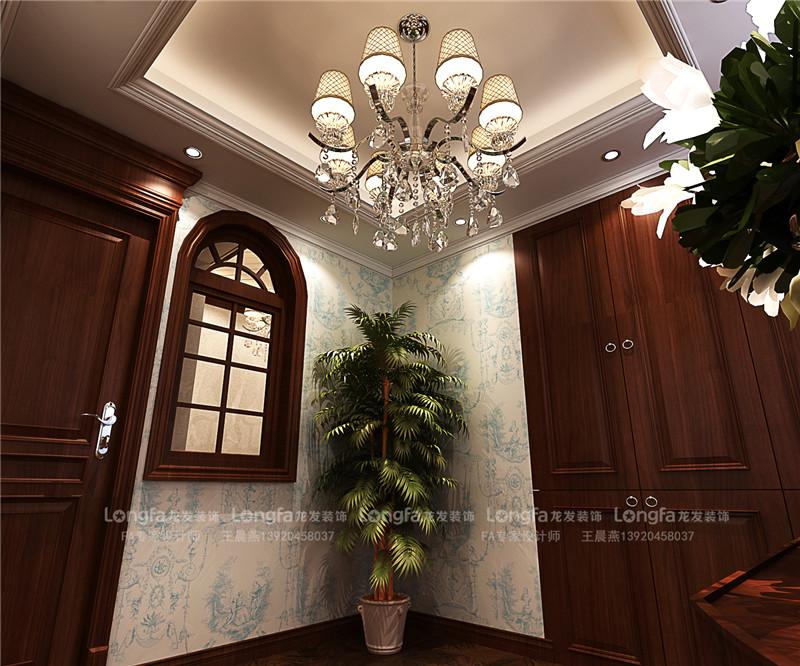 龙发装饰 生态城万通 美式风格 三居室 室内装修 客厅图片来自龙发装饰天津公司在万通新新家园175平米美式风格的分享