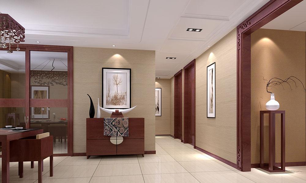 别墅 新中式 客厅图片来自今朝装饰张智慧在今朝装饰龙湖山庄别墅新中式风格的分享