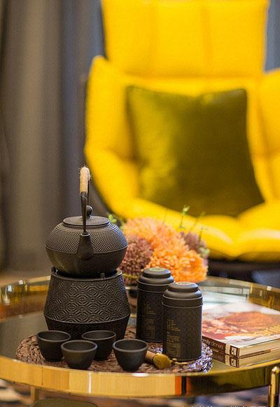 客厅图片来自家装大管家在清新小资 89平港式自然简约空间的分享