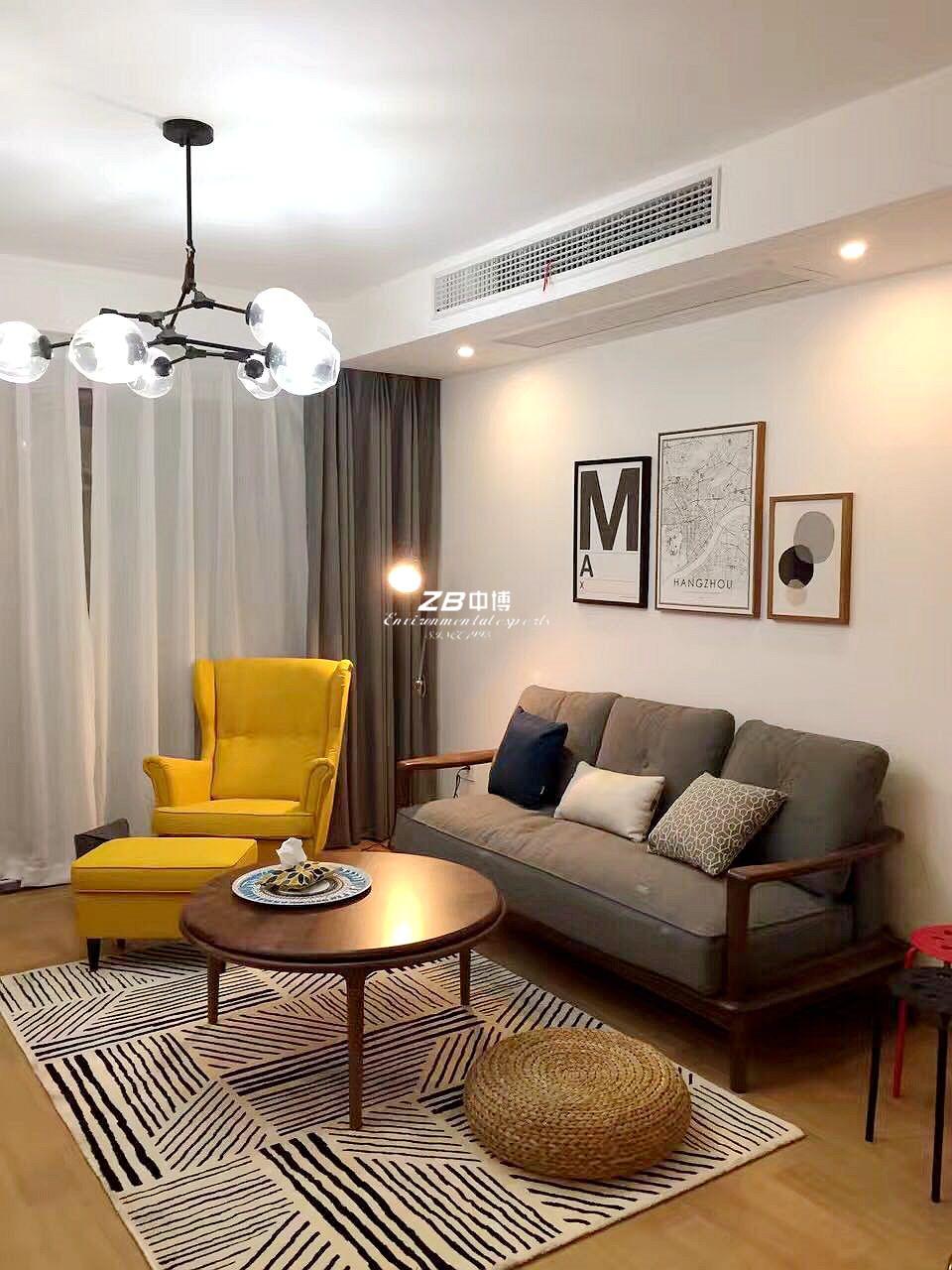 北欧 二居 白领 收纳 80后 客厅图片来自中博装饰在观澜时代朗轩89方北欧风格的分享