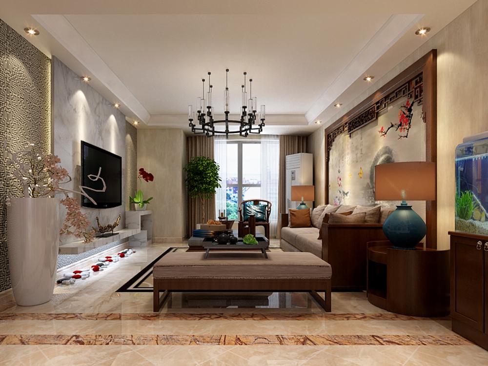 三居 中式 客厅图片来自tjsczs88在蝶恋花的分享
