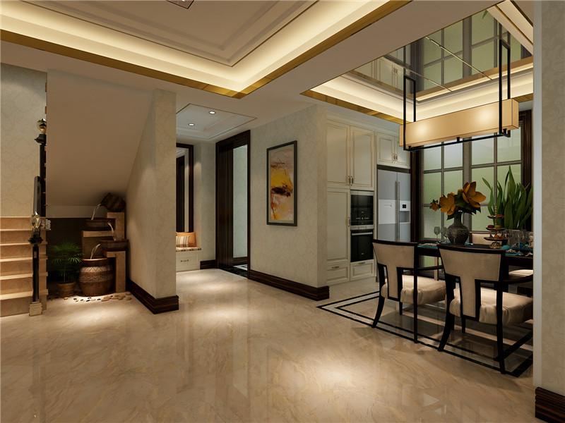 龙发装饰 新家园 万通新 四居 混搭 复式 楼梯图片来自龙发装饰天津公司在万通新新家园130平米混搭风格的分享