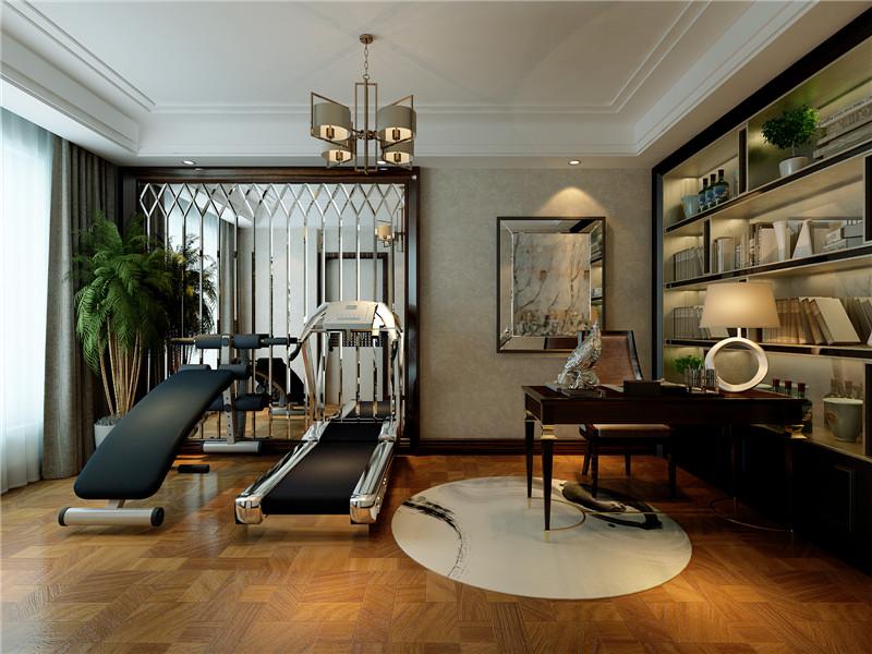 龙发装饰 新家园 万通新 四居 混搭 复式 书房图片来自龙发装饰天津公司在万通新新家园130平米混搭风格的分享