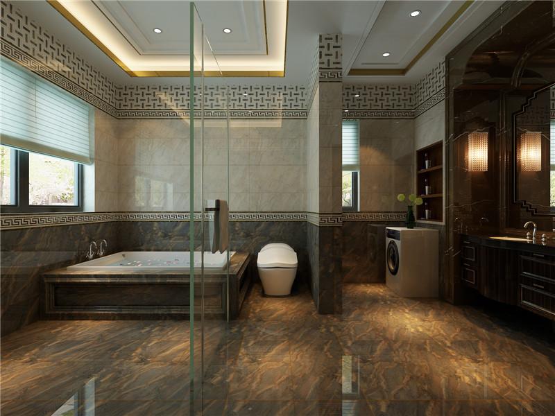 龙发装饰 新家园 万通新 四居 混搭 复式 卫生间图片来自龙发装饰天津公司在万通新新家园130平米混搭风格的分享