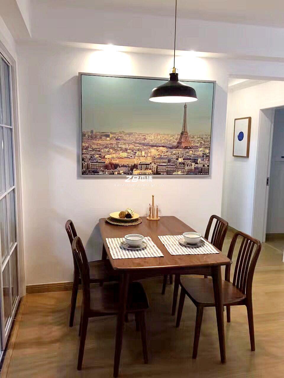 北欧 二居 白领 收纳 80后 餐厅图片来自中博装饰在观澜时代朗轩89方北欧风格的分享